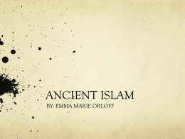 ANCIENT ISLAM