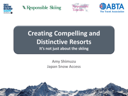 Amy Shimuzu Japan Snow Access Creating Compelling and