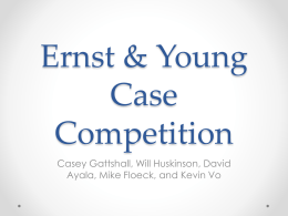 EY Case Competition Powerpoint