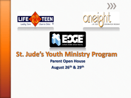 Parent Life - St. Jude the Apostle Church