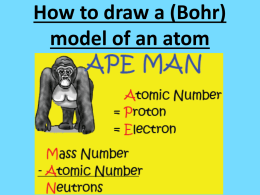 How_to_draw_a_(Bohr) - Mrs. GM Biology 200