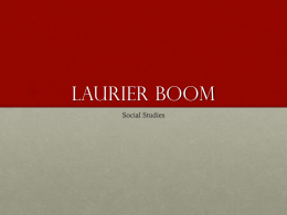 Laurier Boom