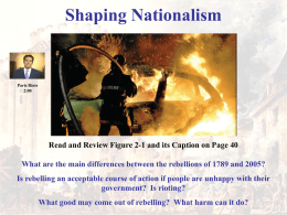 What Are Some Factors That Shape Nationalism?