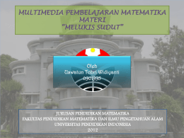 melukis SUDUT - WordPress.com