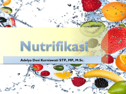 3. Nutrifikasi - WordPress.com