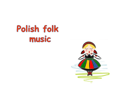 Polish folk music instruments