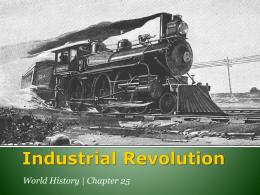 Why the Industrial Revolution Began in England?