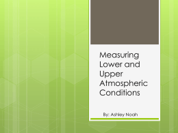 Measuring Lower-Atmospheric Conditions
