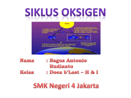 Siklus Oksigen - WordPress.com
