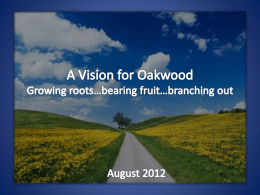 What`s Up At Oakwood? (Session 2