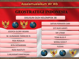geostrategi indonesia (ppt)