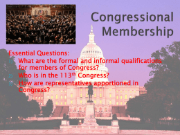 Legislative Branch PPT