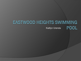 Eastwood Heights Swimming Pool