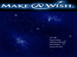 MakeAWish - WordPress.com