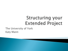 Structuring_your_Extended_Project