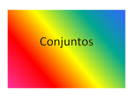 Conjuntos - WordPress.com