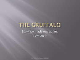 The Gruffalo Powerpoint
