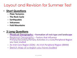 15.05.14 Revision Plate Boundaries