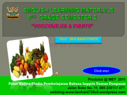 english learning materials 5th grade semester 2
