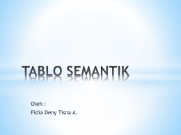 TABLO SEMANTIK - WordPress.com
