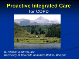 COPD Exacerbation Proactive Integrated Care
