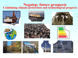 Negatep - Science for Energy Scenarios