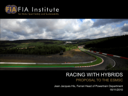racing with hybrids