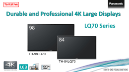 LQ70 Series - Displaydatenbank.de
