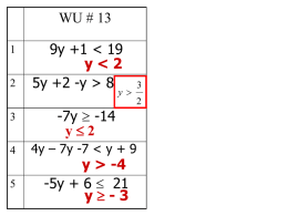 3. The sum of two integers is greater than 23. One integer is 5 less