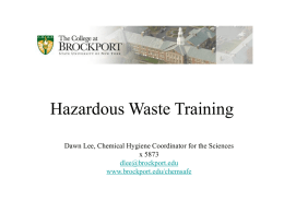 Hazardous waste - what is it ??