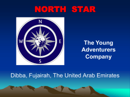 North Star Dibba Camp 2013