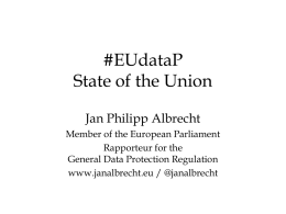 #EUdataP State of the Union