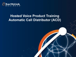 ACD - EarthLink Business