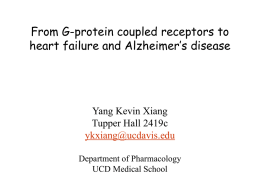 Yang Kevin Xiang, Department of Pharmacology
