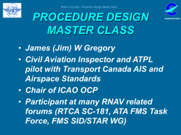 HISTORY OF RNAV/ARINC - Assistance to the Aviation Industry