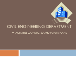 CIVIL FAMILY - sahrdaya college of engineering and technology