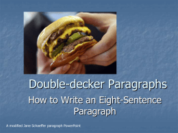 Jane Schaffer Powerpoint hamburger