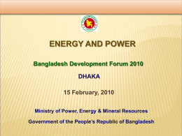 Presentation: Energy and Power