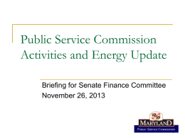 MW - Maryland Public Service Commission