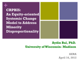 An Equity-oriented Systemic Change Model to Address