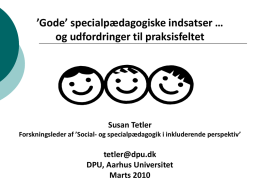 Integrationsperspektivet