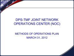 DPS Satellite Network - Texas Emergency Management