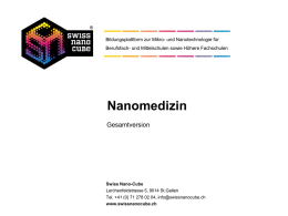 Nanomedizin-Modul Gesamtversion PowerPoint