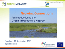 Introduction to the Green Infrastructure Network (PPT