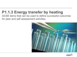 P1.1.3 Energy transfer by heating powerpoint