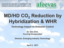 MD/HD CO 2 Reduction by Hybridization & WHR