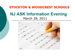 NJASK Information Evening