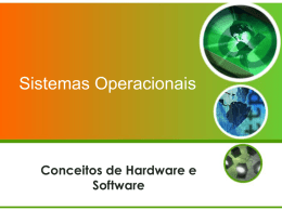 Conceito de Hardware e SOftware