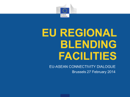 EU DEVCO blending facilities - Arise