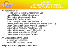 ARUNA facilities - Florida State University